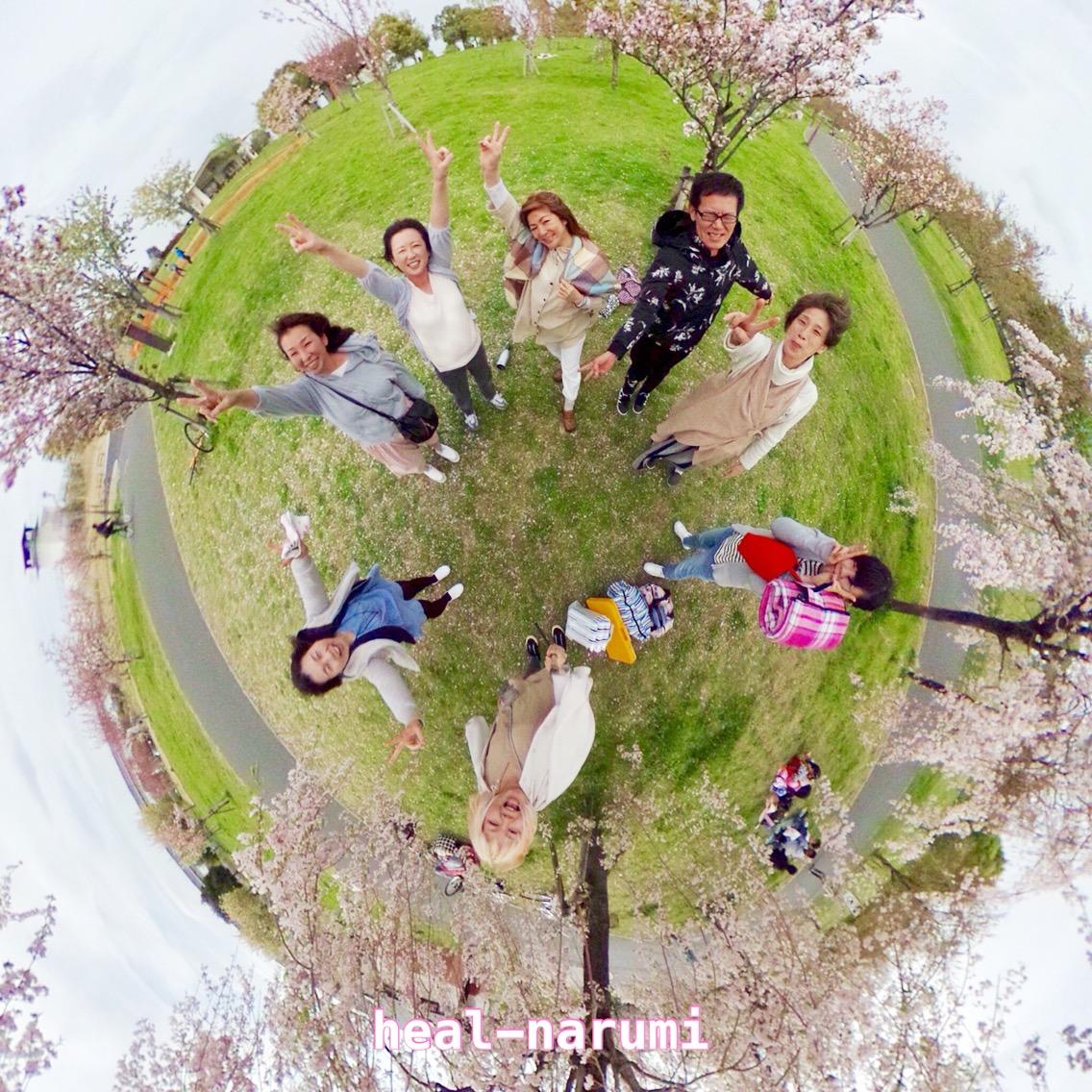 足立区・舎人公園で浄化の桜吹雪!レイキワークショップで癒されタイム♡