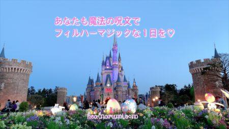 【魔法の呪文】ディズニーランドを120%楽しめる!小顔&美首セルフケア動画♡